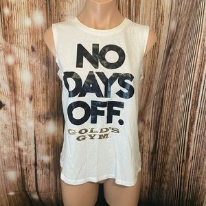 Gold's Gym No Days Off Tank Top
